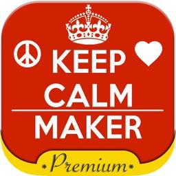 Keep calm poster generator – Pro