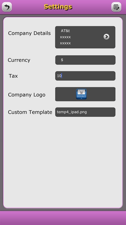 Quick Invoice Pro screenshot-1