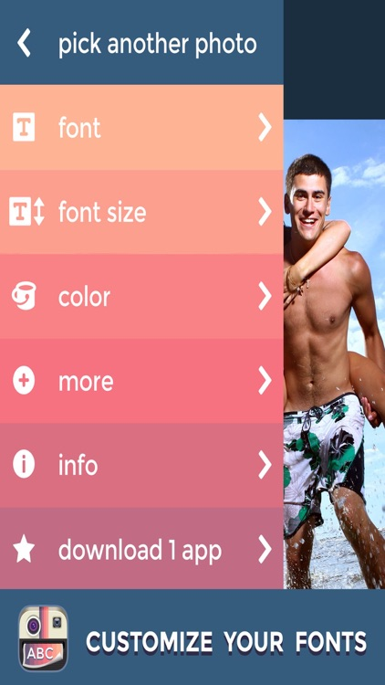 PictureGram - Add Custom Text & Fonts To Pictures screenshot-4