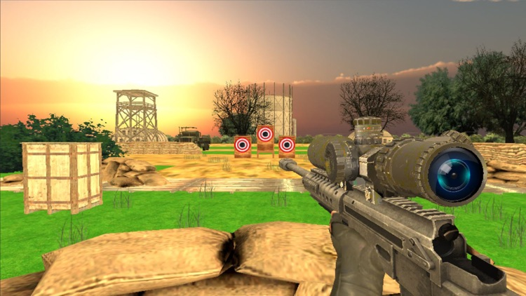 Military Target Shooting Simulator screenshot-0