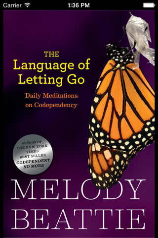 Language of Letting Go: Codependency Meditations screenshot 1