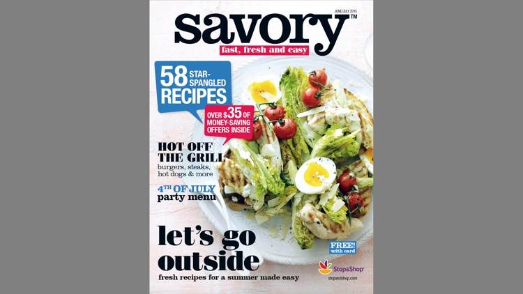 Savory Magazine by Stop & Shop