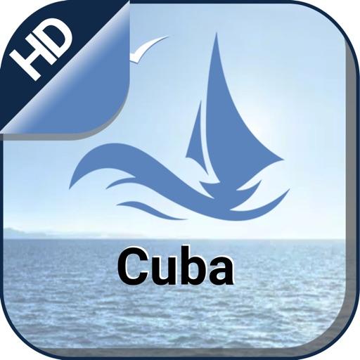 Cuba offline nautical charts for boating & fishing