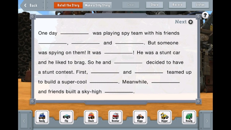 Chuck & Friends: Chuck and Flip Team Up screenshot-4