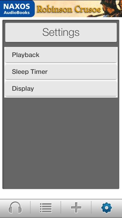 Robinson Crusoe: Audiobook App screenshot-3