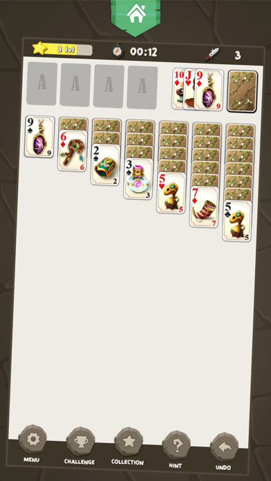 Solitaire Kings screenshot one