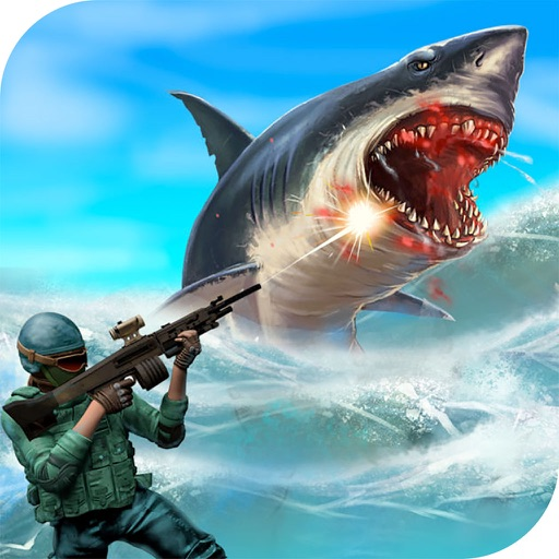 Sea Shark Attack : Eat Swimmers To Complete Level icon