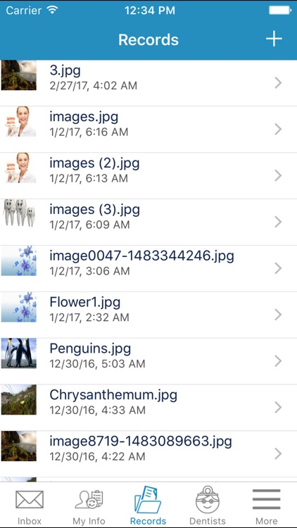 My Dental Files - Secure Dental Records screenshot-3