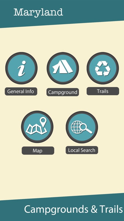 Maryland State Campgrounds & Hiking Trails screenshot-0
