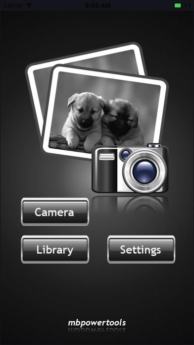 Black & White Photo Lite screenshot one