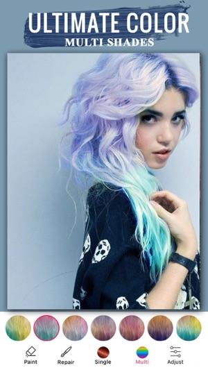 Best Hair Color Changer App Hair Color Dye App On The App Store