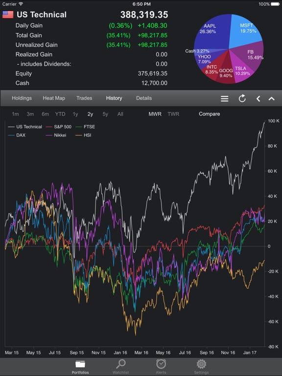 Portfolio Trader-Stock Tracker Скриншоты8