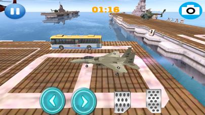 Air Fighter Plane Speed Parking screenshot 2