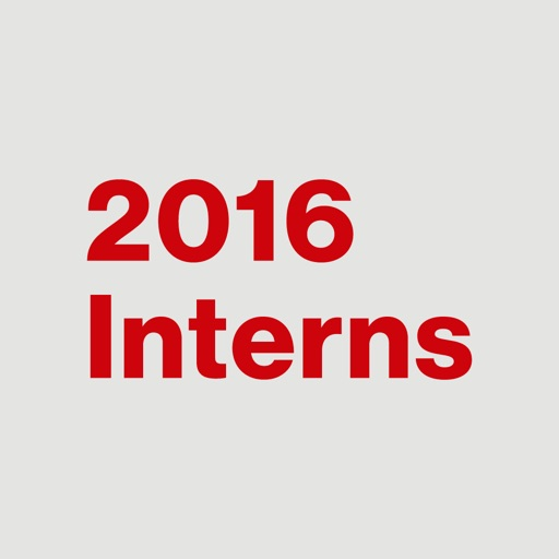2016 Interns
