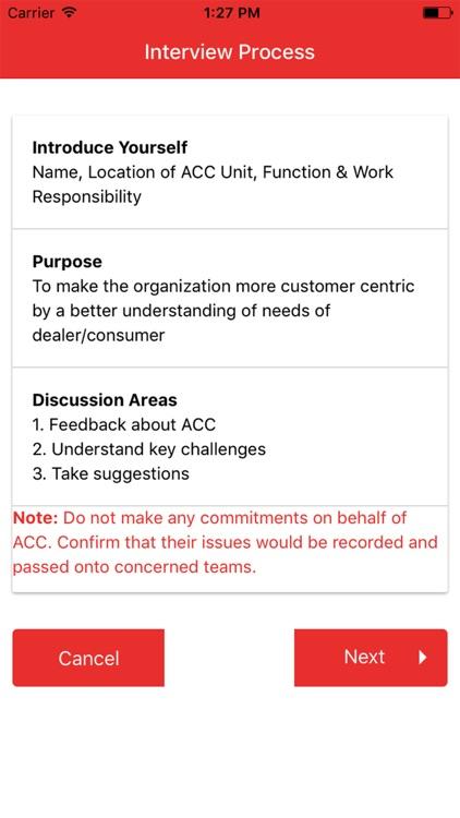 ACC Customer Feedback App screenshot-3