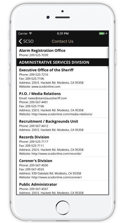 Stanislaus County Sheriff's Office screenshot-3