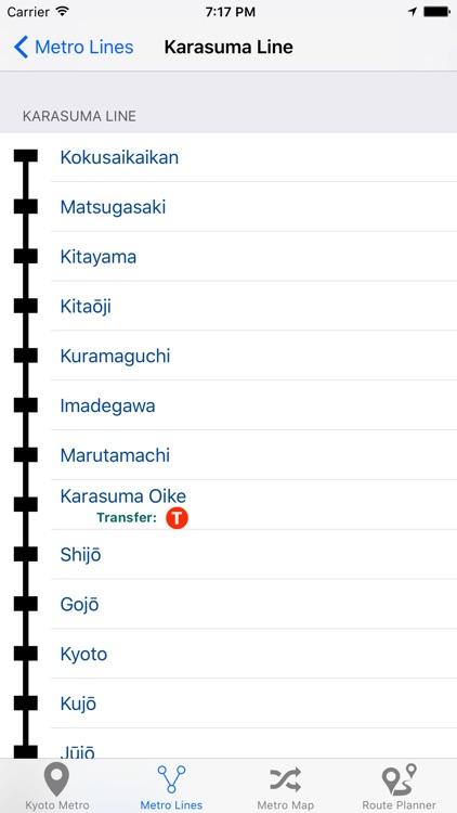 Kyoto Metro screenshot-3