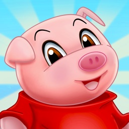 Three Little Pigs - fairy tale with games for kids