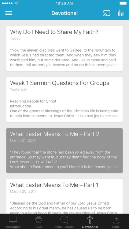 Northstar Church App
