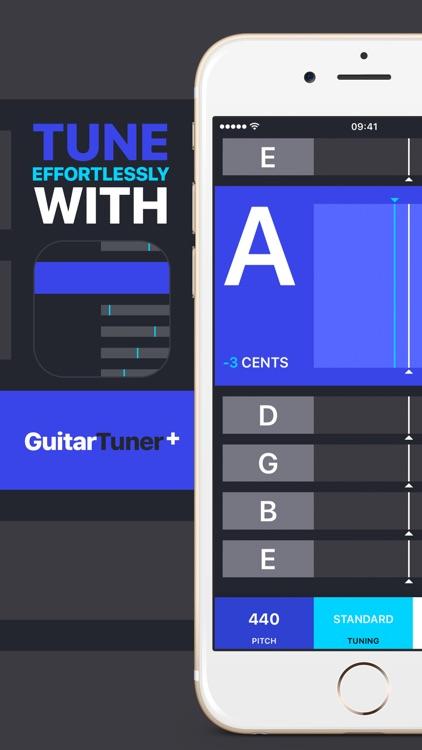Guitar Tuner+ Tuning Simplified