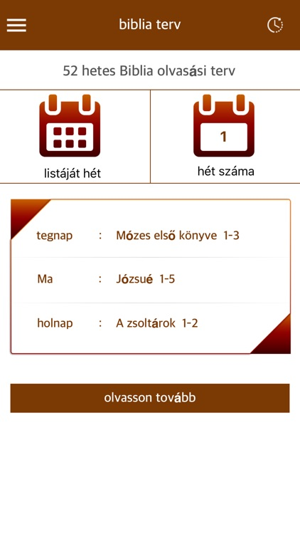 Hungarian Holy Bible with Illustrations app image