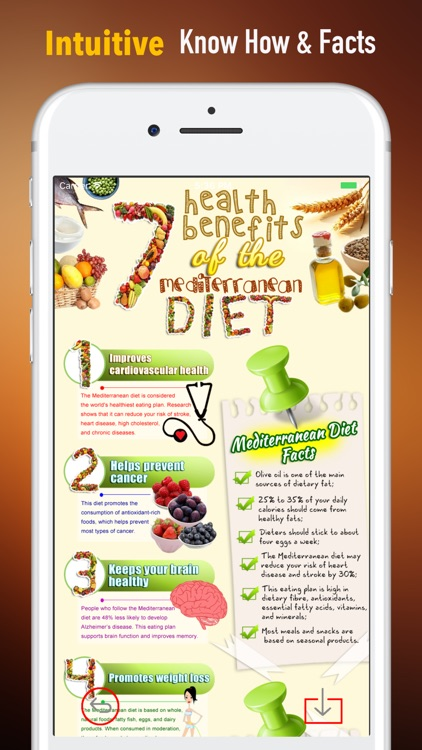 Mediterranean Diet-Delicious Recipes and Meal Plan screenshot-0