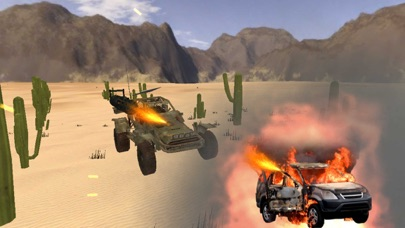 Armored Road Warrior Death Car Racing screenshot two