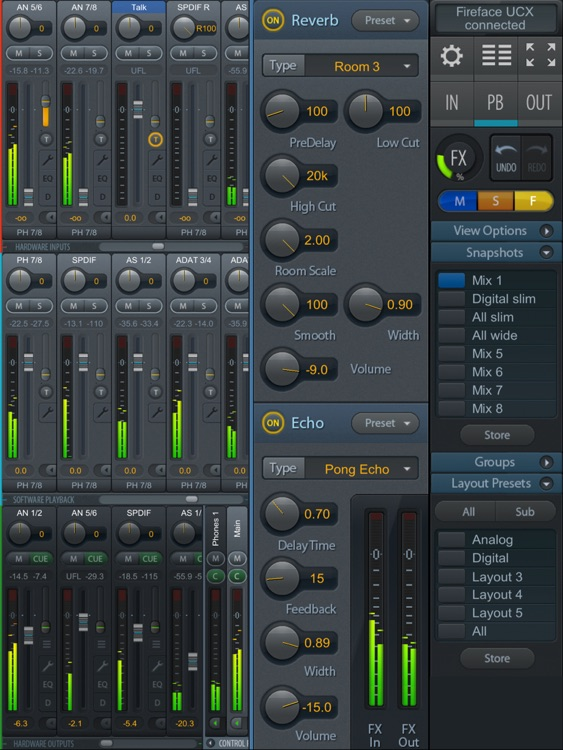 TotalMix FX for iPad screenshot-3