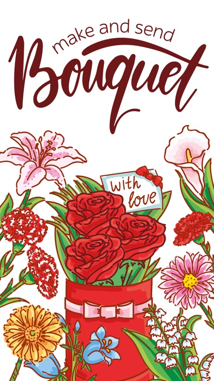 Make Bouquet! stickers for iMessage screenshot-0