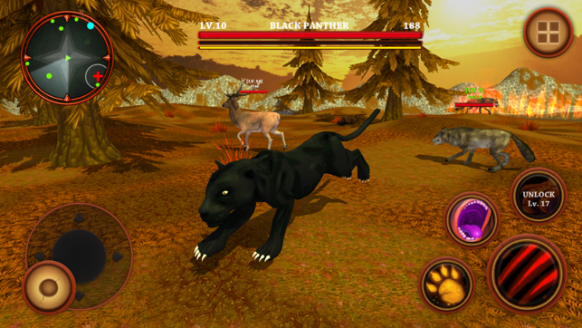 Black Panther Simulator - Wild Animals Survival 3D on the App Store