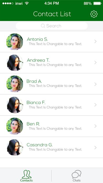 UnikaChat screenshot four