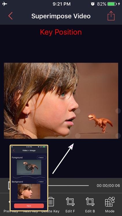 Superimpose Video - Combine Movies & Photos
