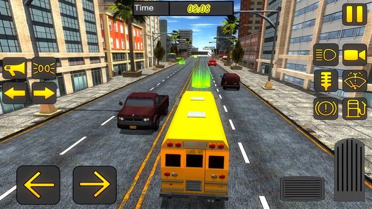 High School Bus Driver -  City Bus Simulator 2017