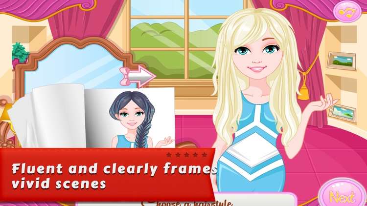 Makeover Games:Denim Hairstyles screenshot-3