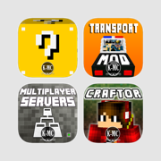 Mods Servers Transports & Craftor for Minecraft PE