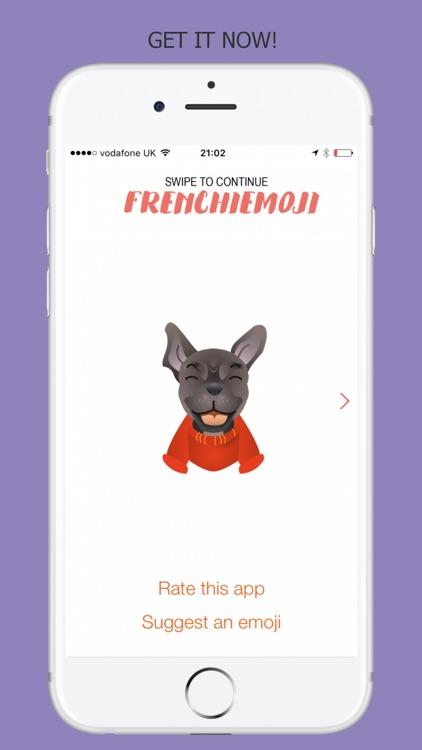 FrenchieMoji - French Bulldog Emojis screenshot-4