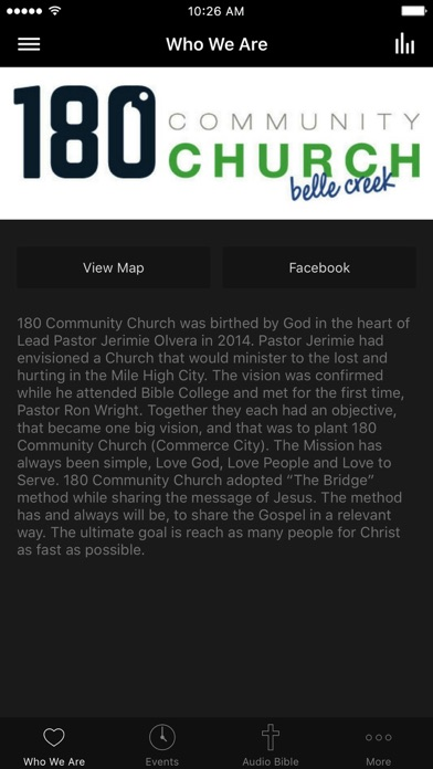 180 Community Church screenshot 1