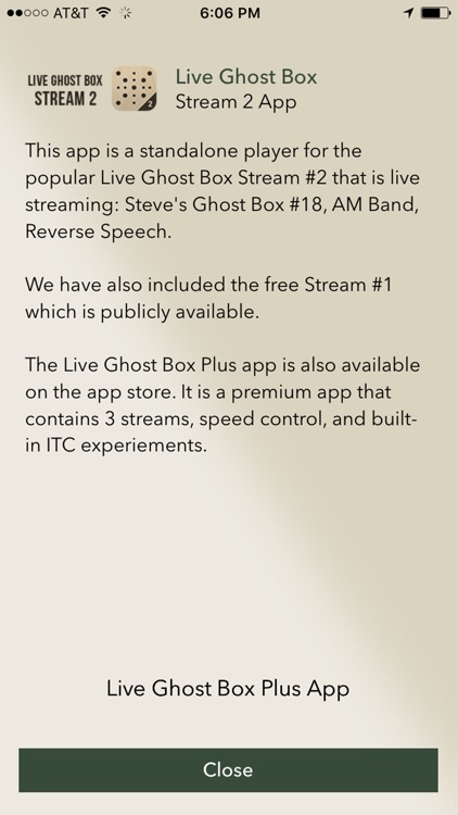 Live Ghost Box Stream 2