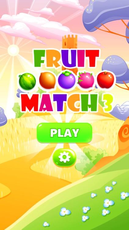 Juicy Fruit Match 3 screenshot-3
