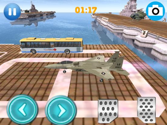 Air Fighter Plane Speed Parking screenshot 1