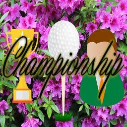 Major Open Golf Stickers : Championship Golfer