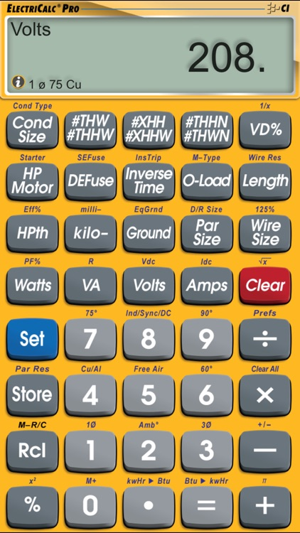 Electricalc pro advanced nec code calculator by calculated industries electricalc pro advanced nec code calculator keyboard keysfo Choice Image