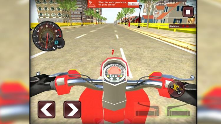 Bike racing Highway Traffic Wheeling 3D master