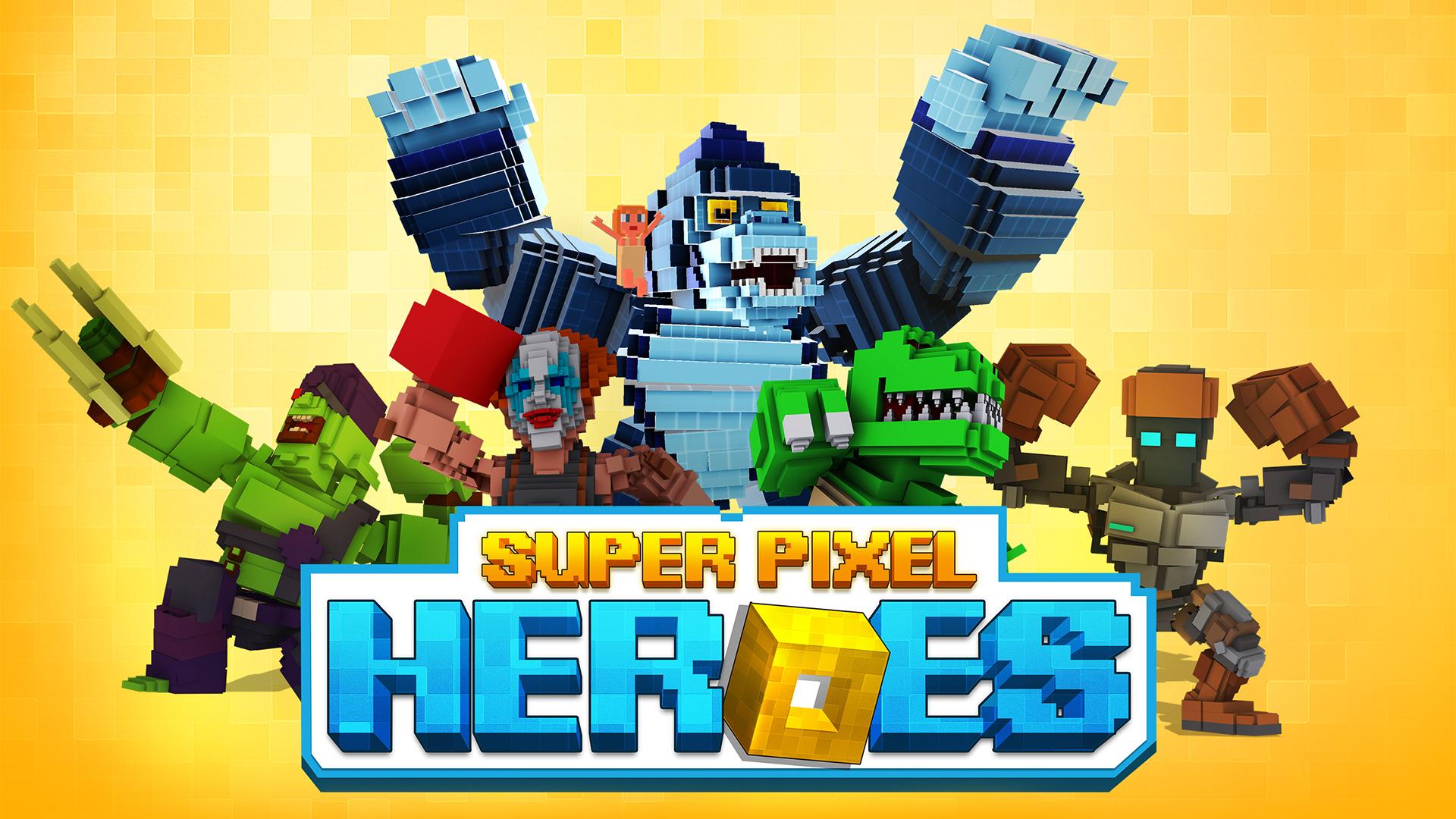 Super Pixel Heroes 2019 screenshot 11