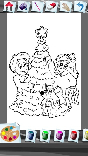Christmas Coloring Book App On The Store