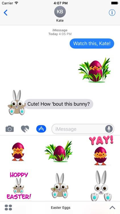 Chicks, Bunnies and Eggs - Springtime Sticker Fun