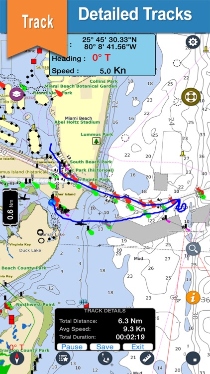 US West Coast Nautical Charts screenshot-0