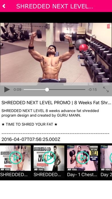 Screenshot for Guru Mann Fitness in New Zealand App Store