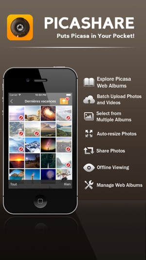picashare for picasa and google photos albums on the app store