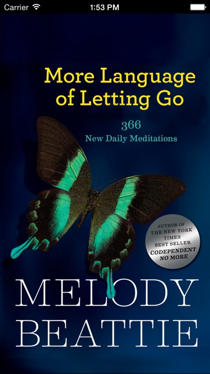 More Language of Letting Go: Codependency Readings